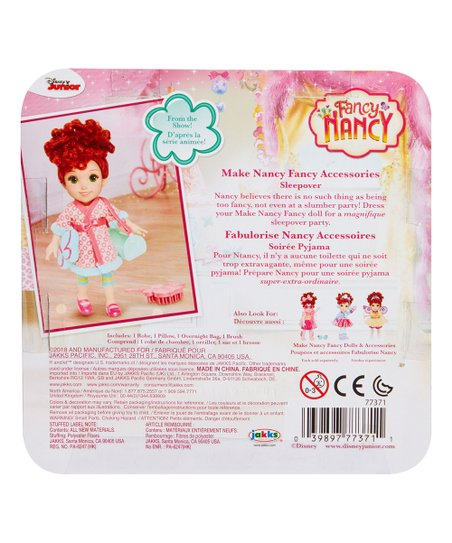 "Fancy Nancy Sleepover 10/"" Doll Accessory Set"