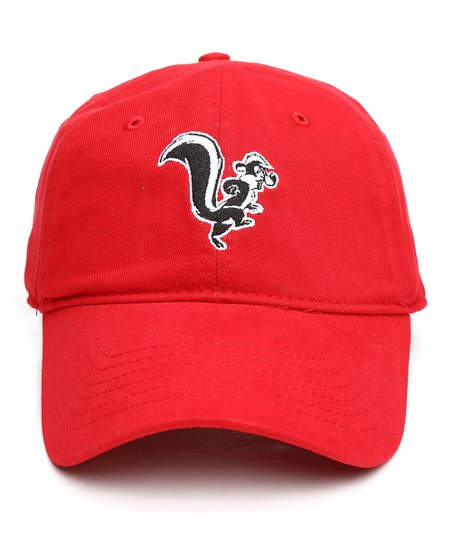 Concept One Looney Tunes Pepe Le Pew Red Embroidred Baseball Cap ... cfaf31188cd