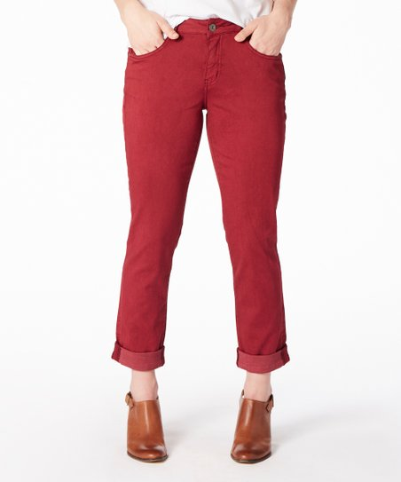 0487608f8691d love this product Ruby Denim Carter Girlfriend Jeans - Women