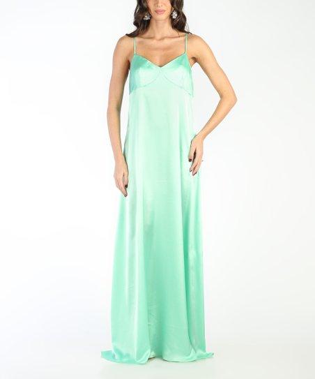 12c63cbdc6d Carla by Rozarancio White   Green Ombré Strappy Maxi Dress - Women ...