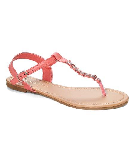 d072841ad18c GoldToe Coral Braided Rhinestone Thong Sandal - Women