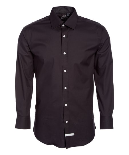 e2d4310377f75 English Laundry Black Embroidered Button-Up - Men & Big | Zulily