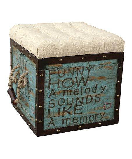 Superb Pulaski Green Black Melody Memory Storage Ottoman Short Links Chair Design For Home Short Linksinfo