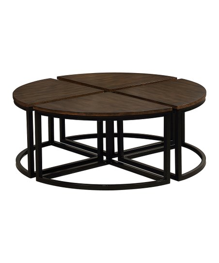 Fantastic Bolton Furniture Mocha Geometric Round Coffee Table Andrewgaddart Wooden Chair Designs For Living Room Andrewgaddartcom