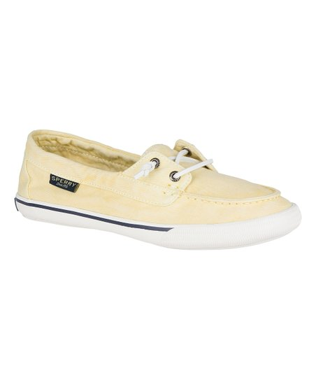Sperry Top-Sider Washed Yellow Lounge