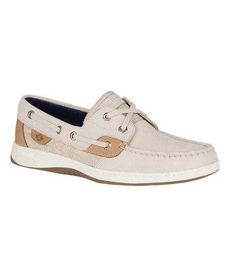 Oat \u0026 Linen Bluefish Leather Boat Shoe