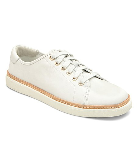 aeafa4f2dae9a love this product White Leah Leather Sneaker - Women