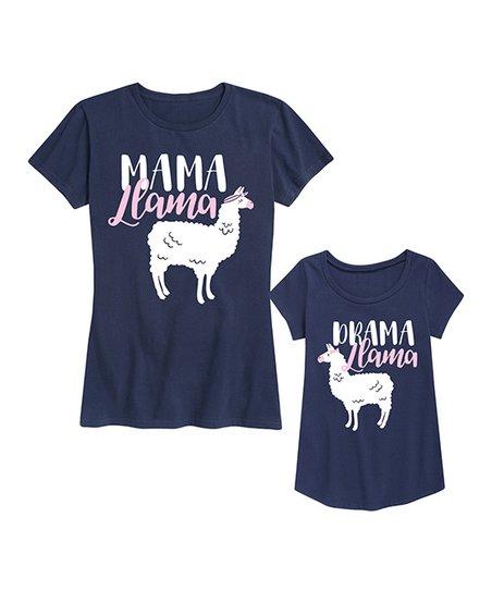 WOMENS FIT Mama Llama Shirt