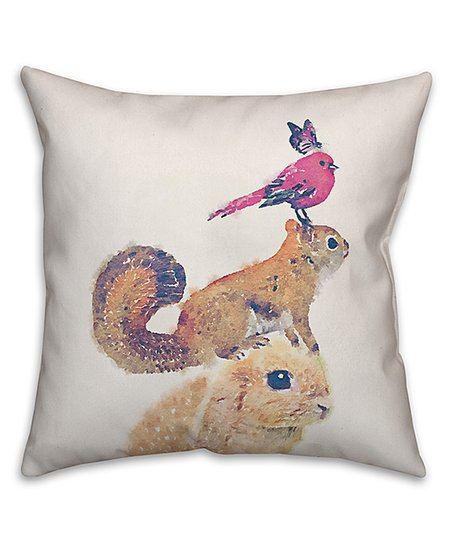 Designs Direct Creative Group Forest Friends Throw Pillow Best Price And Reviews Zulily