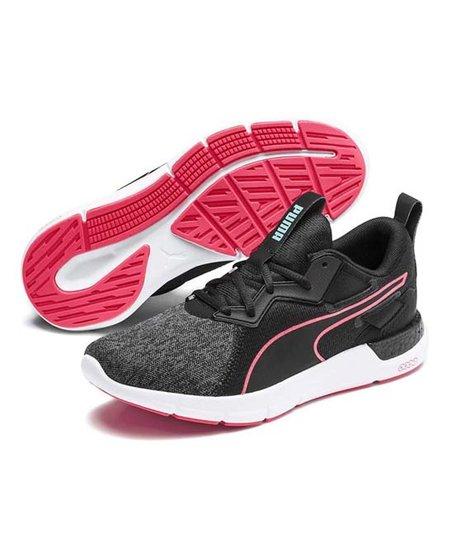 PUMA Black & Pink Alert NRGY Dynamo Futuro Sneaker - Women