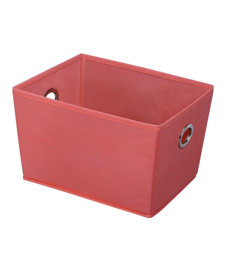 Coral Storage Bin   Set Of Two