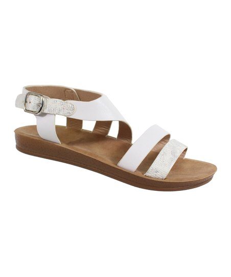 85310b8eed7 love this product White Two-Strap Ira Sandal - Women