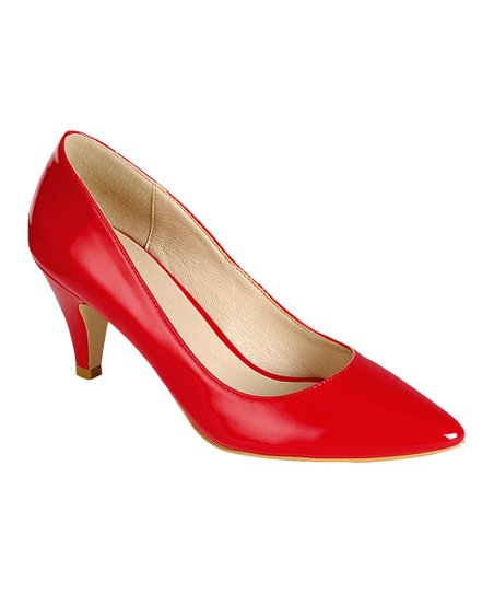1c0d3576380 love this product Red Pointed-Toe Grande Kitten Heel - Women