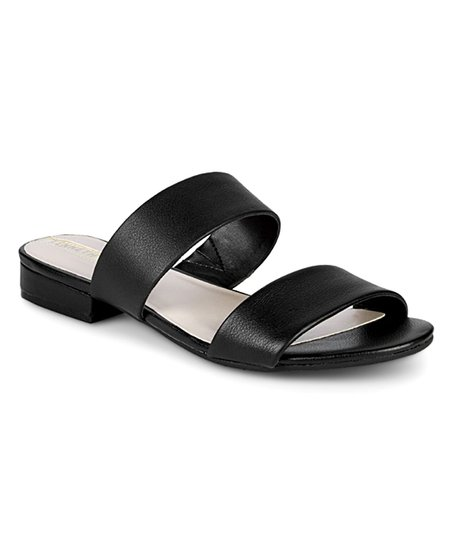 7d26574da0cd Kenneth Cole New York Black Viola Leather Sandal - Women