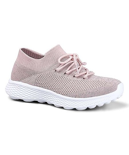 6e10c409eb3ea8 love this product Pink Waffle Sole Sneaker - Women