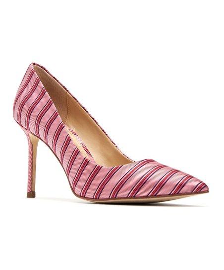 49cfcce3867ee Katy Perry Footwear Light Violet Stripe The Sissy Satin Pump - Women ...