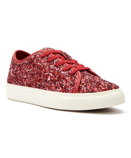 Katy Perry Footwear Spanish Red Glitter