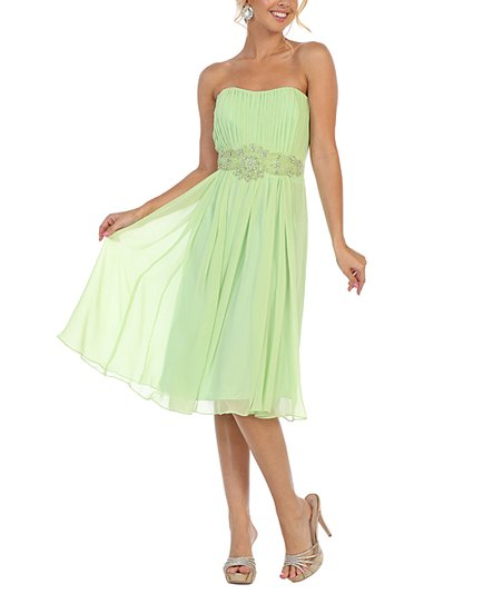 b6984ce77e love this product Lime Sequin-Waist Off-Shoulder Dress   Shawl - Women