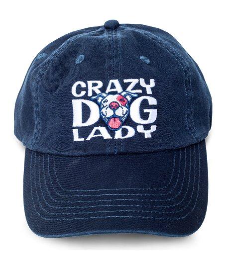 f1118ff37fb love this product Navy  Crazy Dog Lady  Baseball Cap