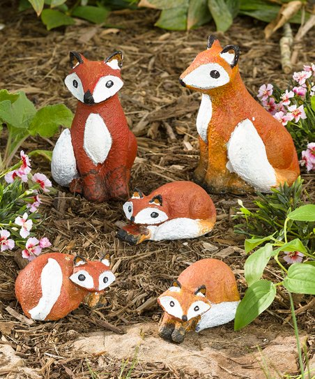 HearthSong Color Pops Paint-Your-Own Fox Craft Kit