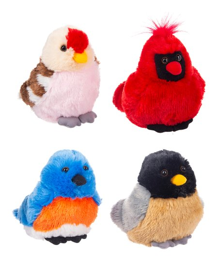 GANZ Cheerful Chirps Bird Stuffed Animal Set
