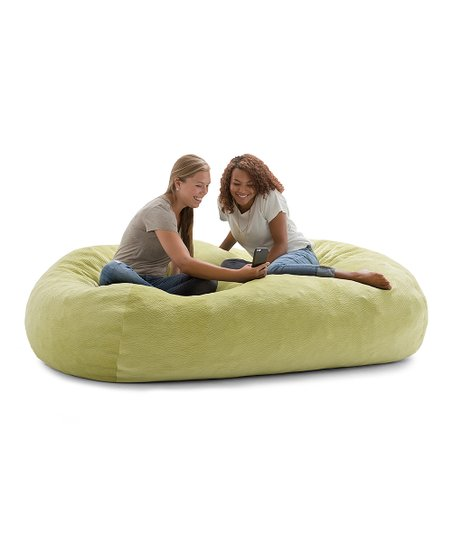 Astounding Big Joe Kelly Green Ripple Big Joe Xl Fuf Beanbag Chair Onthecornerstone Fun Painted Chair Ideas Images Onthecornerstoneorg