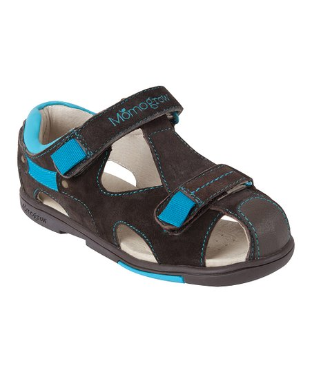 ab67e77e7 love this product Brown   Blue Leather Sandal - Kids