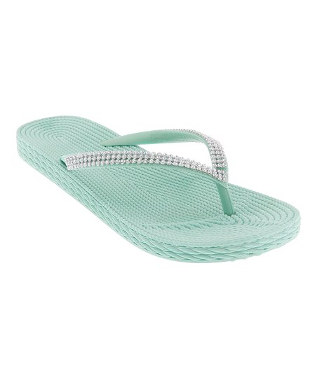 030f31194543 Capelli New York Mint Opaque Jelly Flip-Flop - Women