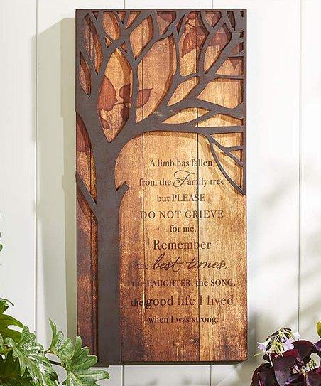 Family Tree Memorial Wall Art
