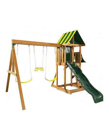 Kidkraft Spring Meadow Swing Set Zulily