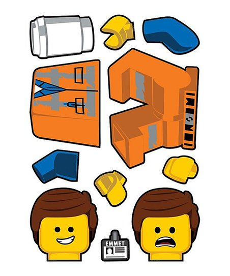 Santoki The Lego Movie 2 Emmet Decal Best Price And Reviews Zulily