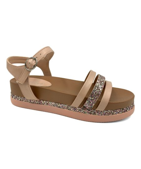 e805566ddb2d Bamboo Blush Lookout Three-Strap Platform Sandal - Women