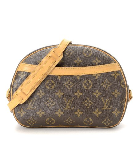 78219af99357 love this product Pre-Owned Brown Monogram Blois Crossbody Bag