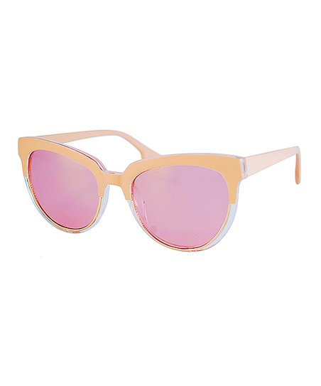 15a7e49cf8 love this product Peach   Pink Above Cat-Eye Sunglasses