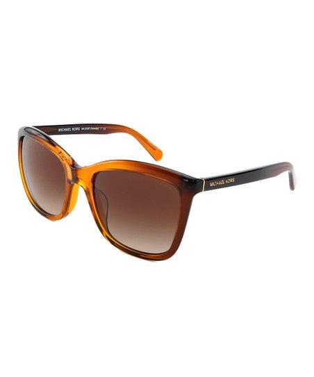 817cc9922e6e4 Michael Kors Amber Gradient Cornelia Square Sunglasses