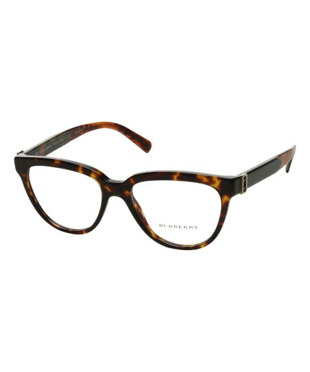 834f70b39b Burberry Havana   Black Round Eyeglasses