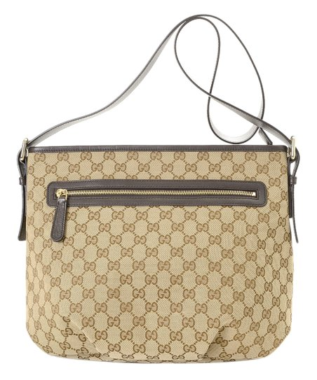 259d53dab69ef1 love this product Pre-Owned Beige Signature GG Canvas Crossbody Bag
