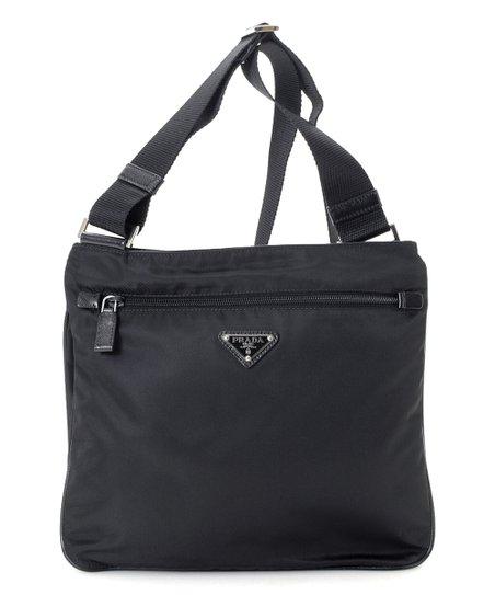 c655c4be571e love this product Pre-Owned Black Tessuto Nylon Crossbody Bag