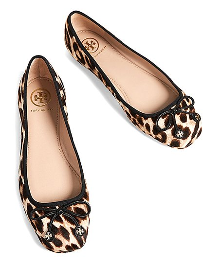 leopard print tory burch flats