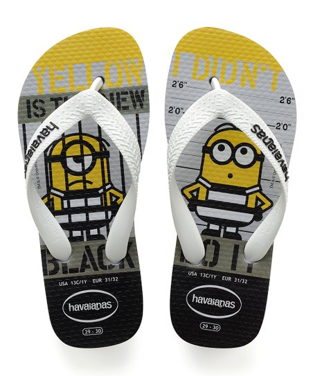 8cc1e47746c5 love this product Minions Ice Gray Flip-Flop - Kids