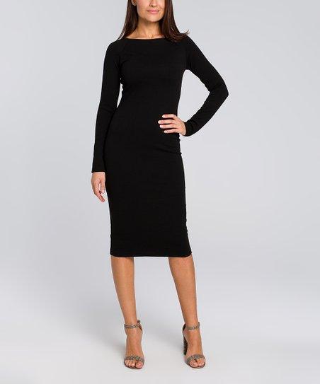 0e8a5d7596d Stylove Clothing Black Bodycon Dress - Women
