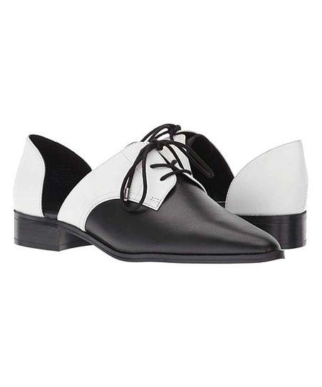 NINE WEST Womens Watervelt Leather Oxford