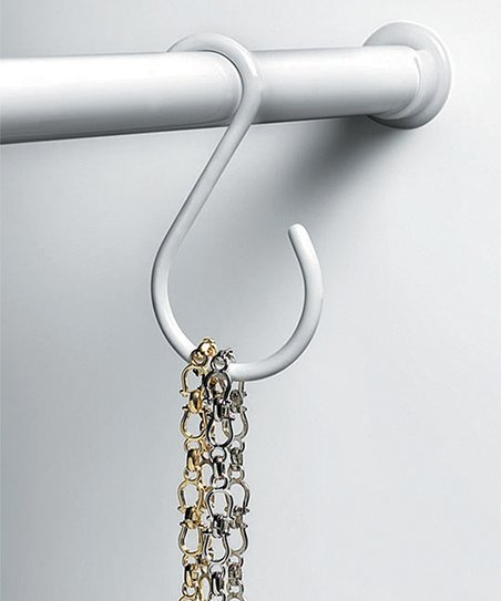 Love This Product White Closet Rod Hook