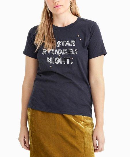 e951b76441695e love this product Darkest Charcoal 'Star Studded' Tee - Women & Plus