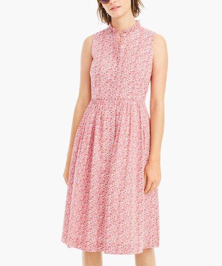 119ca6642b0 J.Crew Chamomile Liberty London© Sleeveless Shirt Dress - Women