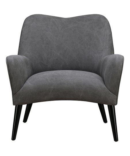 Pleasing Pulaski Gray Mid Century Modern Arm Chair Zulily Pabps2019 Chair Design Images Pabps2019Com