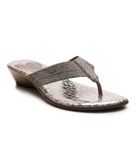 88fed6bc020a Love and Liberty Pewter Summer Sandal - Women