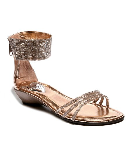 9b389308a8db Love and Liberty Rose Gold Shelly Rhinestone Sandal - Women