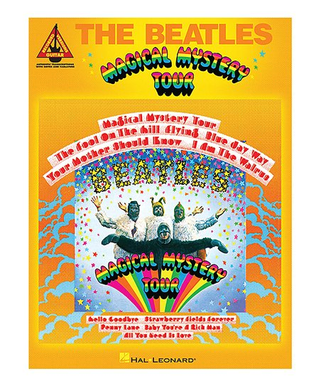 Hal Leonard The Beatles: Magical Mystery Tour Paperback Music Book