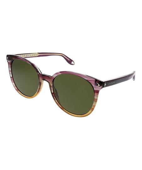 f64ca596b love this product Tinted Sunset Round Cat-Eye Sunglasses